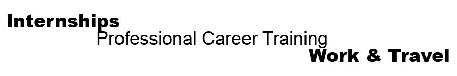 USA Internships + Professional Career Training + Work & Travel