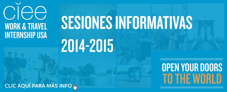 Clic aquí para ver las sesiones informativas 2014-2015